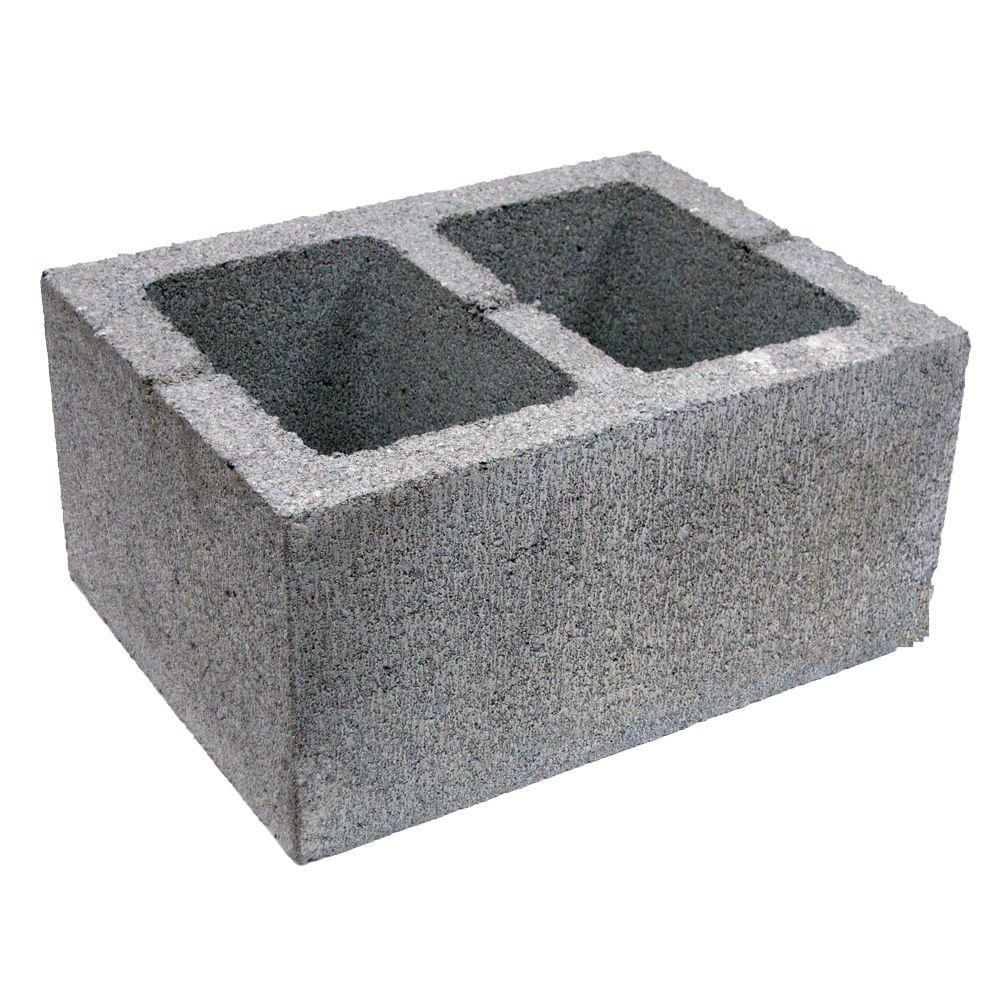 8 In X 12 In X 16 In Concrete Block 903881 The Home Depot
