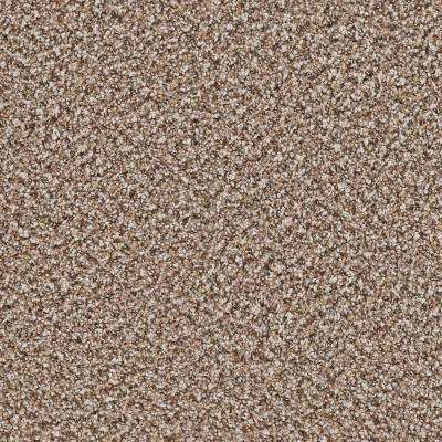 Carpet Sample - Goldsberry I - Color Oscar Twist 8 in. x 8 in.