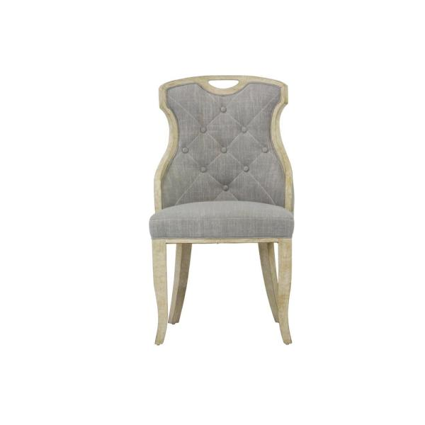 Peachy Sofia Grey Linen Back Dining Chair With Handle Set Of 2 Pdpeps Interior Chair Design Pdpepsorg