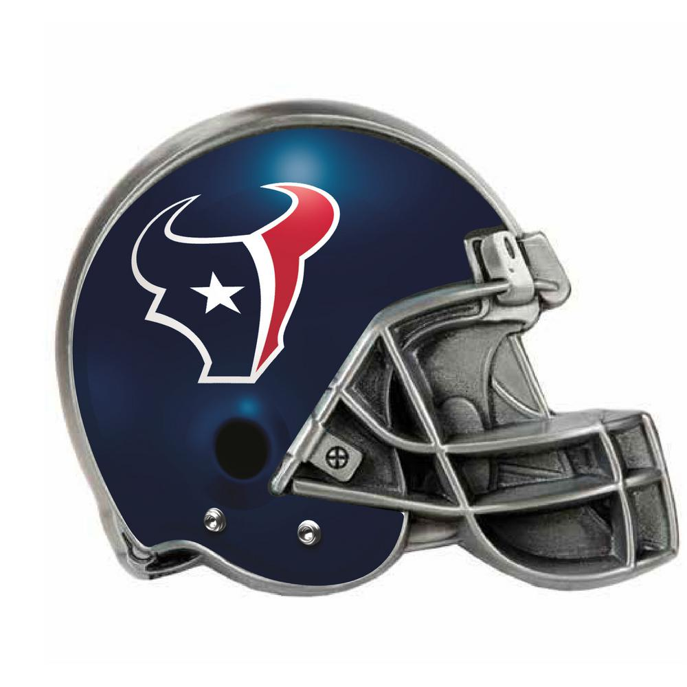 f8e9d0a9 Great American Products Houston Texans Helmet Hitch Cover