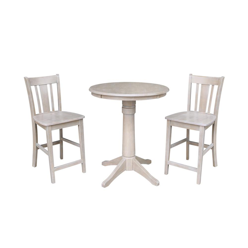 International Concepts 3 Piece 30 In Round Weathered