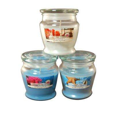 8 oz. Scented Candle Collection Fresh (3-Count)
