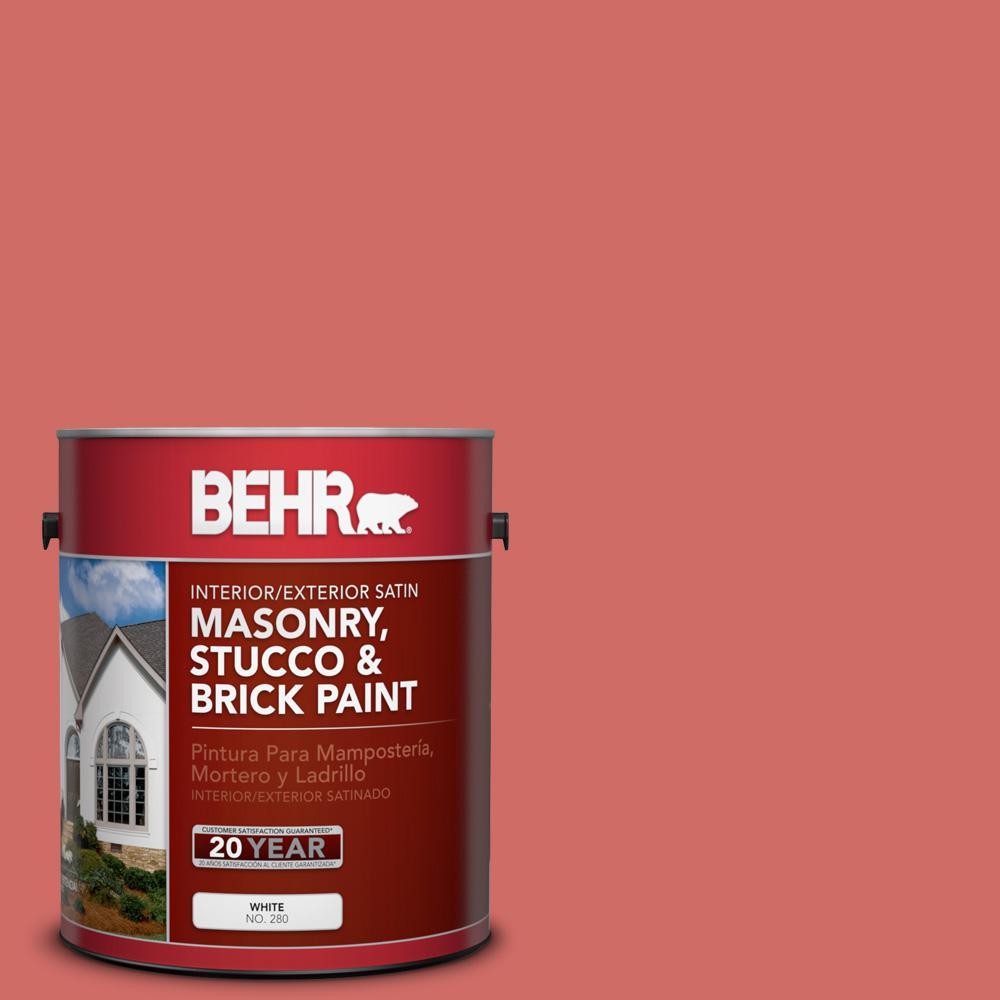 1 gal. #M160-6 Matadors Cape Satin Interior/Exterior Masonry, Stucco and Brick Paint
