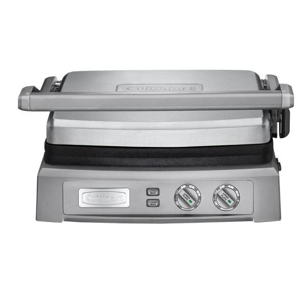 Cuisinart Deluxe Griddler 240 sq. in. Stainless Steel Indoor Grill with
