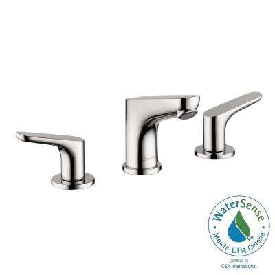 Focus 100 8 in. Widespread 2-Handle Bathroom Faucet in Chrome