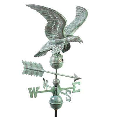Smithsonian Eagle Weathervane - Blue Verde Copper