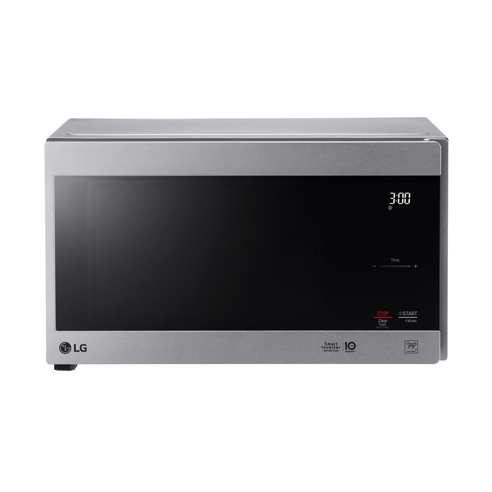 Lg Electronics Neochef 0 9 Cu Ft Countertop Microwave In Stainless Steel