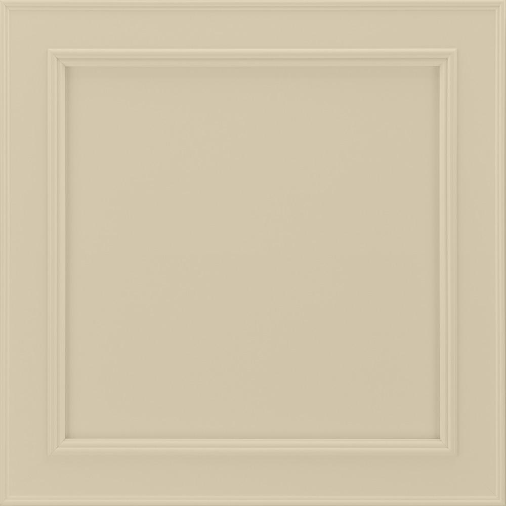 14-9/16x14-1/2 in. Cabinet Door Sample in Brookland Painted Cashmere