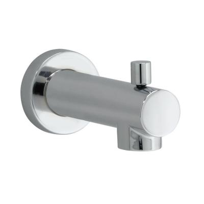 Serin Slip-On Diverter Tub Spout in Polished Chrome