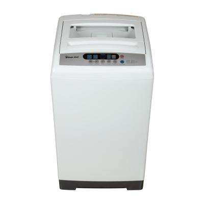 1.6 cu. ft. Compact Top Load Washer in White with Stainless Steel Tub