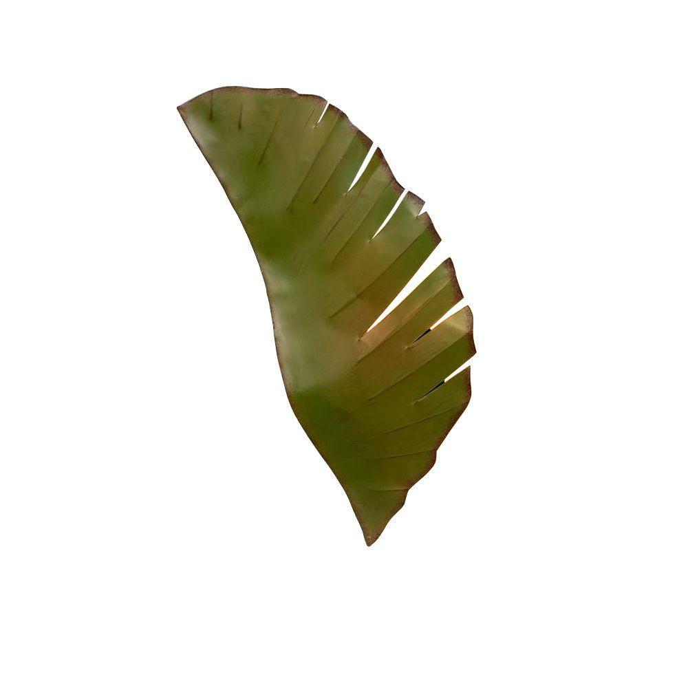 2-Light Banana Leaf Sconce
