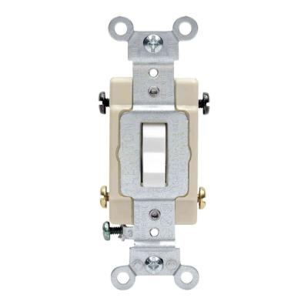 20 Amp 4-Way Preferred Toggle Switch, White