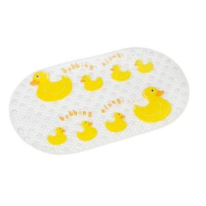 Croydex Bobbing Along Bath Mat in Clear by Croydex