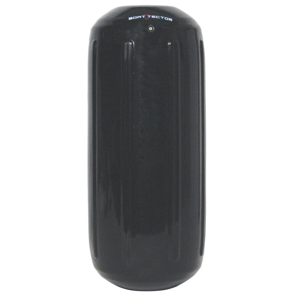8.5 in. x 20 in. BoatTector HTM Inflatable Fender in Black