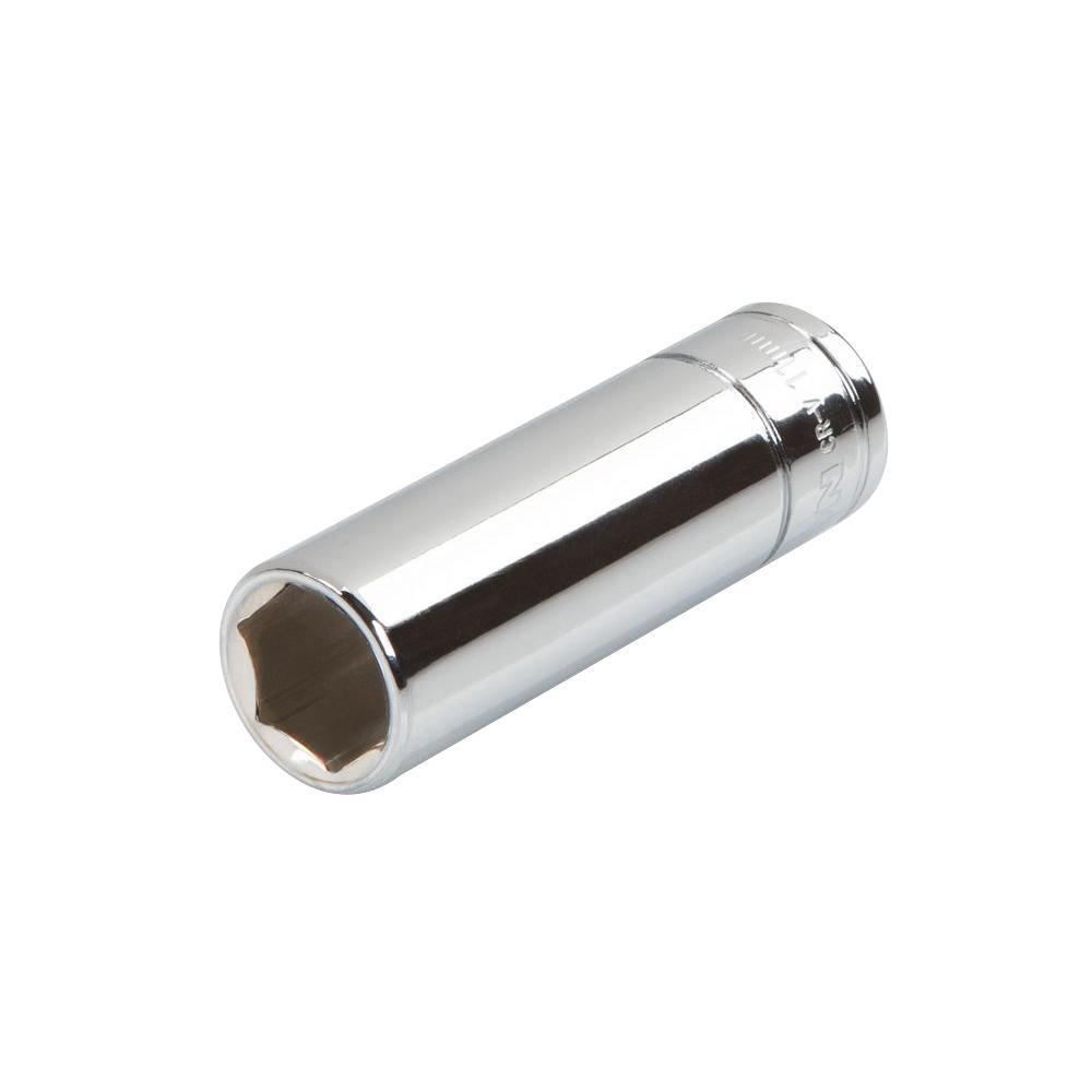 1/4 in. Drive 11 mm 6-Point Deep Socket