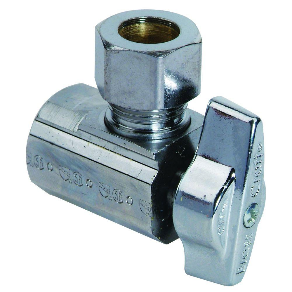1/2 in. FIP Inlet x 1/2 in. O.D. Compression Outlet Brass