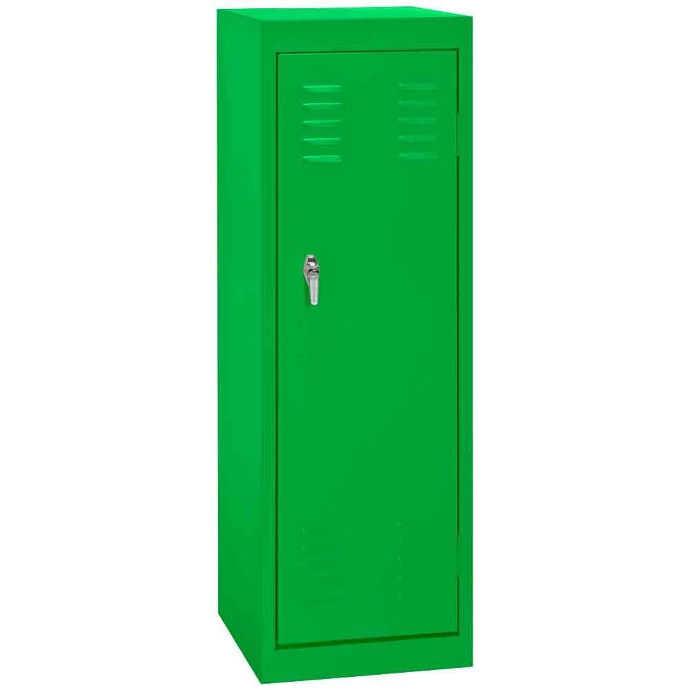 Sandusky 15 in. W x 15 in. D x 48 in. H Single Tier Welded Steel Locker in Primary Green