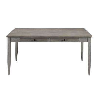 Ornat Gray Oak and Antique Gray Dining Table