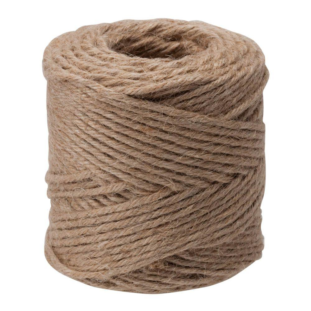 Everbilt #30 x 190 ft. Twisted Jute Twine, Natural
