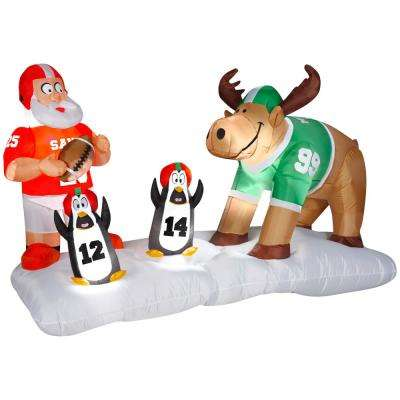 4 ft. Football Scene Inflatable