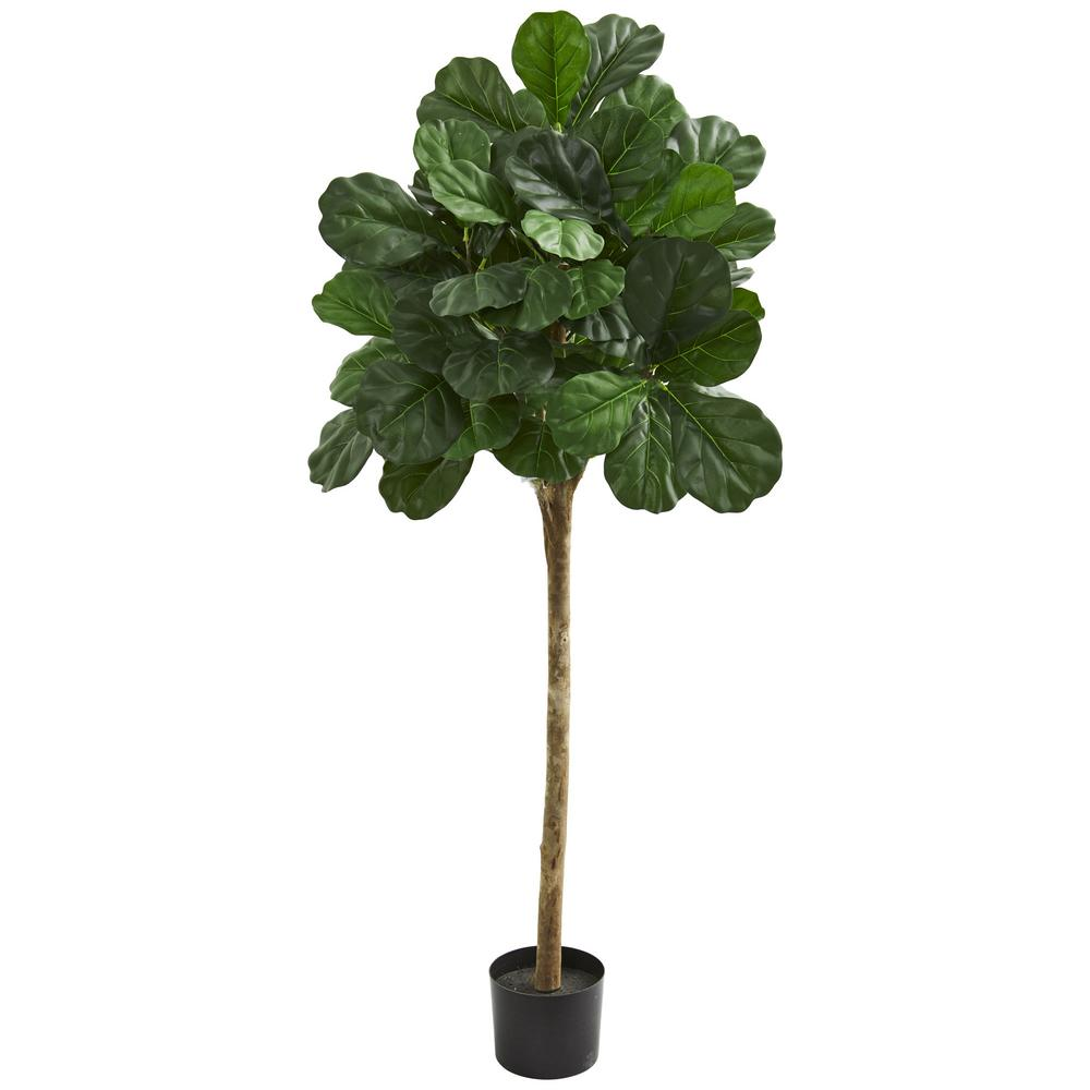 Ollain Artificial Fiddle Leaf Fig Plant with Potted 20 Tall Fake Plastic Faux Ficus Tree Floor Plant in Pot for Outdoor Window Box Planter Indoor Outside Home Garde Office Room Gardening Decoration