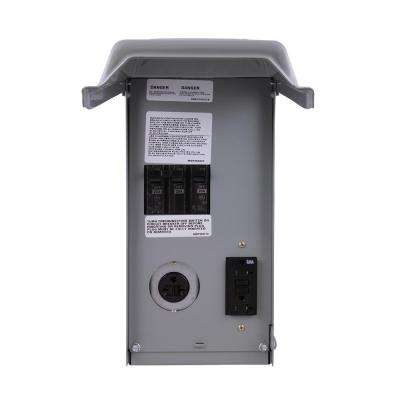 40 Amp Temporary Power Outlet Box
