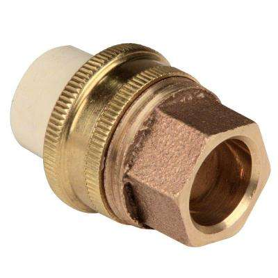 1/2 in. Lead-Free Copper and CPVC CTS Silicon Alloy Slip x Soldier Transition Union