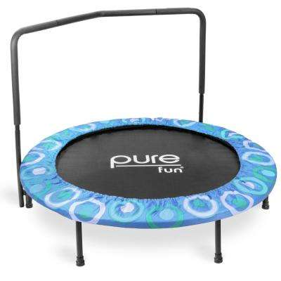 48 in. Super Jumper Kids Trampoline in Blue