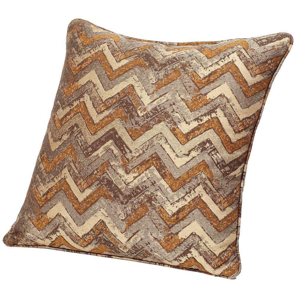 Home Decorators Collection Chevron 18 in. Multicolor Decorative Pillow