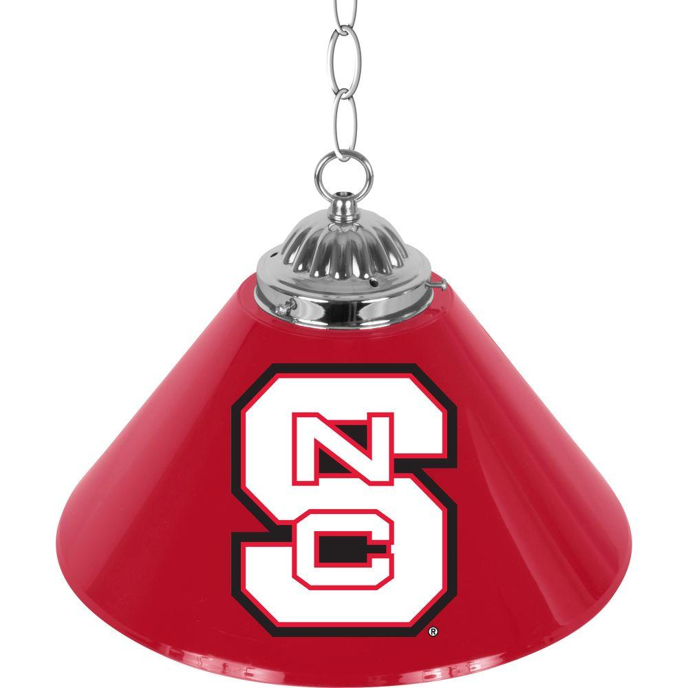 North Carolina State 14 In. Single Shade Bar Lamp-LRG1200