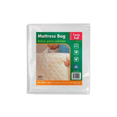 91 in. x 54 in. x 14 in. Twin and Full Mattress Bag