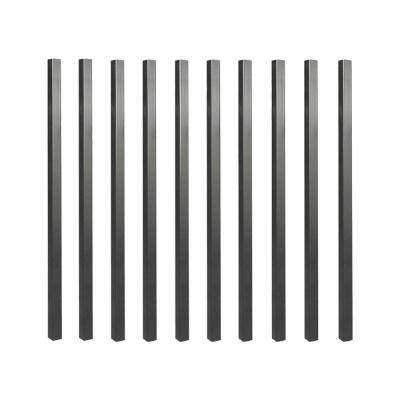 32 in. x 3/4 in. Galvanized Square Balusters (10-Pack)