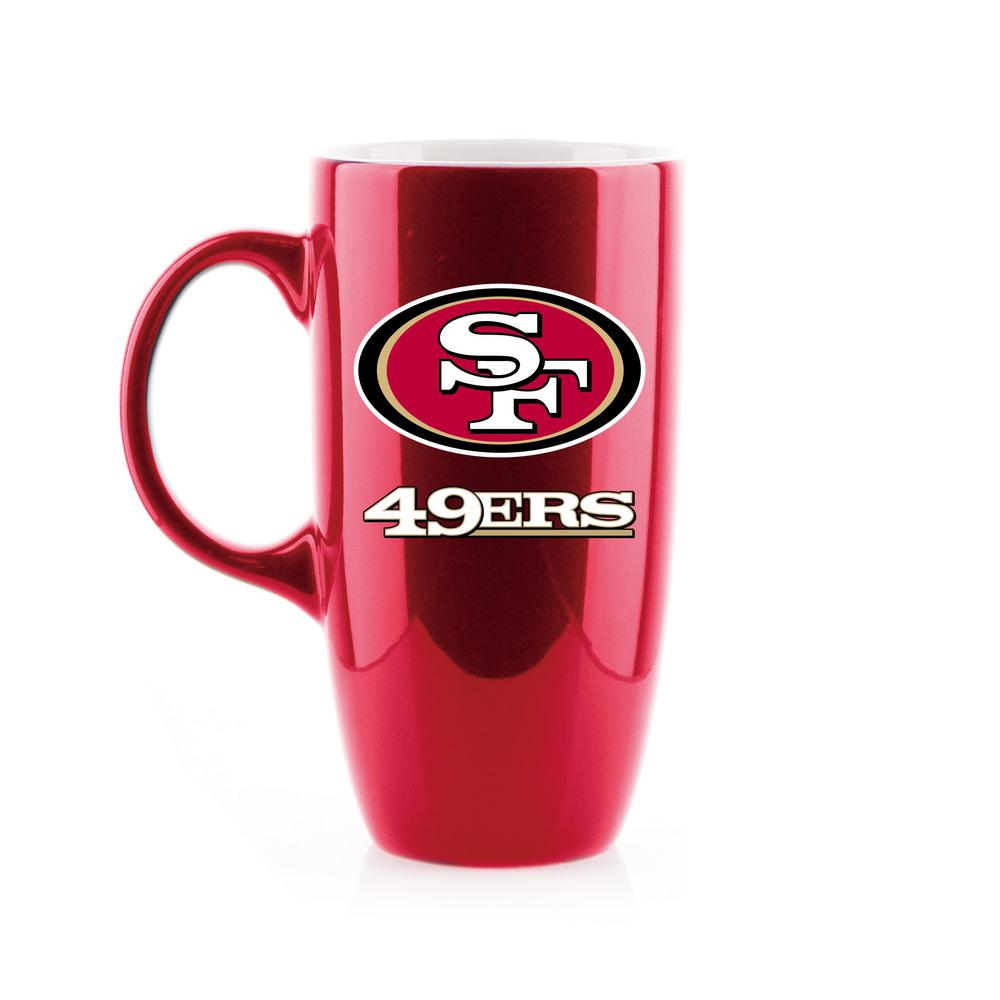 Duckhouse Sports 20 Oz San Francisco 49ers Tall Assorted Colors Ceramic Coffee Mug Lcet125 The Home Depot
