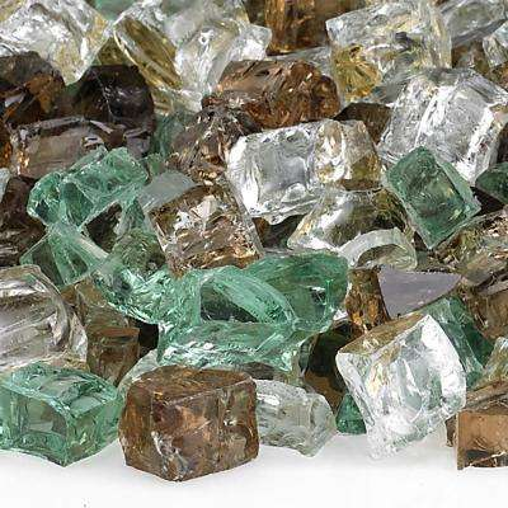 1/2 in. Yosemite Reflective Fire Glass 10 lbs. Bag