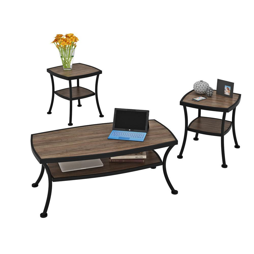 Coffee Table Set Home Depot: Z-Line Designs Covington Coffee Table And End Table Set