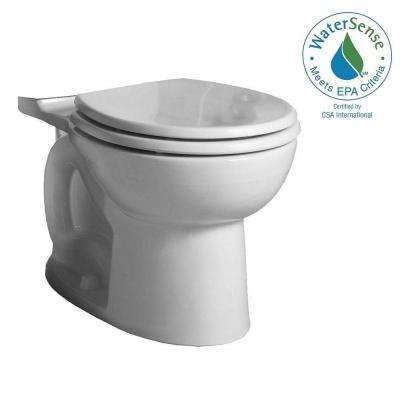 Cadet 3 FloWise Round Toilet Bowl Only in White