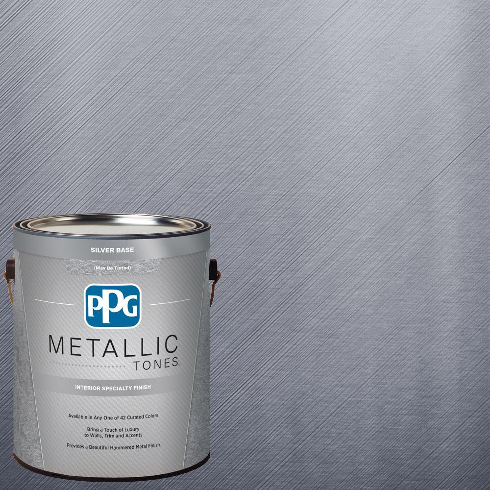 1  gal. #MTL102 Stannic Metallic Interior Specialty Finish Paint