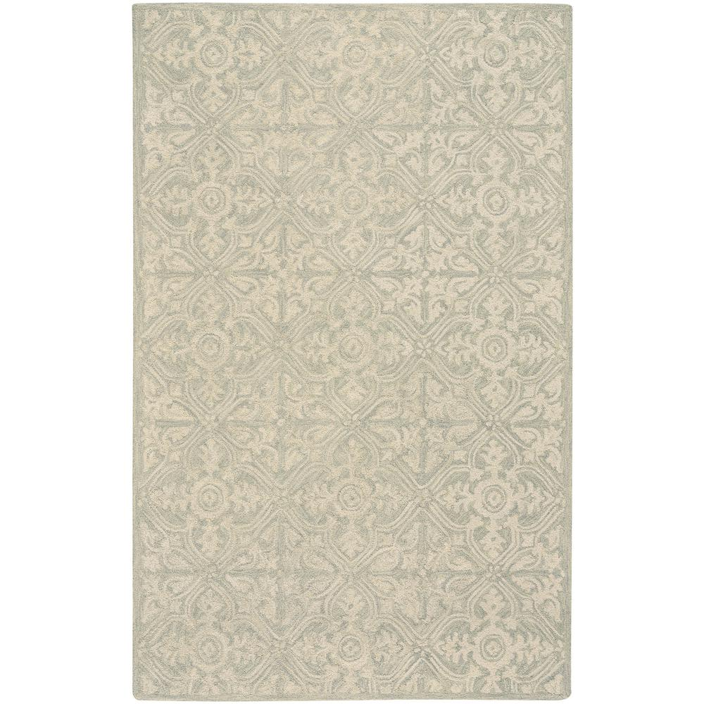 Capel Edna Green 3 ft. 6 in. x 5 ft. 6 in. Area Rug The Edna style is a wool, transitional rug design from Capel Rugs. Edna Hand rugs have a hand tufted construction. Uniting quality materials with beautiful, handcrafted design. Practical yet indulgent, artisanal yet affordable, Capel rugs continues to be a favorite for families 100 years after their debut. We make rugs in our American factories and we also source rug weaving vendors from around the world to create a collection unrivaled in range, unsurpassed in design and uncompromising in quality. Color: Green.