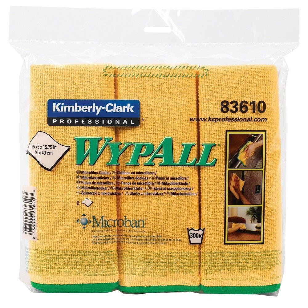 Kimberly-Clark Microfiber Cloths (6 Per Pack)