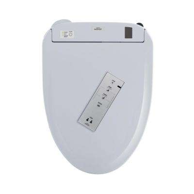 S350e WASHLET+ Electric Bidet Seat for T20 WASHLET+ Toilet with EWATER+ Auto Open and Close Lid in Cotton White