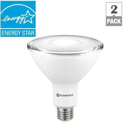 90-Watt Equivalent PAR38 Dimmable LED Flood Light Bulb, Daylight (2-Pack)