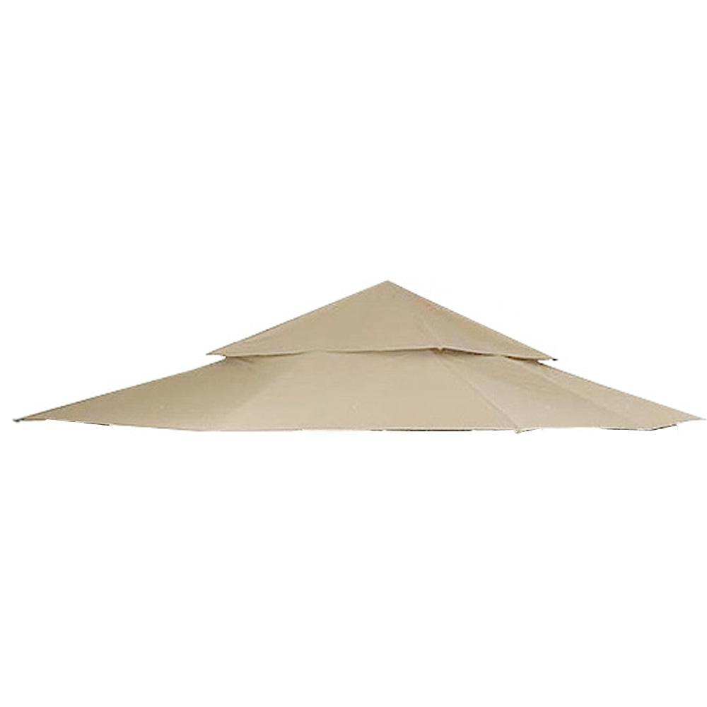 Garden Winds RipLock 500 Beige Replacement Canopy Top Cover for 12 ft. x 12 ft. Harbor Gazebo