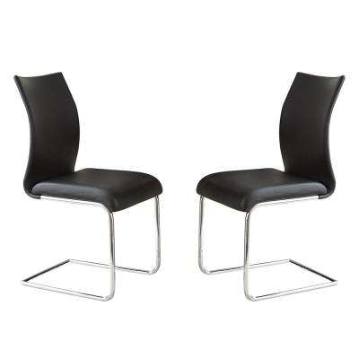 Randall Black Side Chairs (Set of 2)