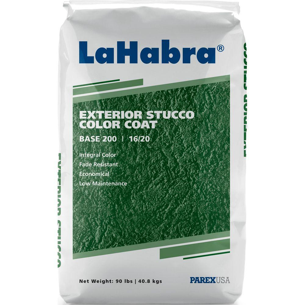 Exterior Stucco Color Coat 90 Lb Base 200 Gray