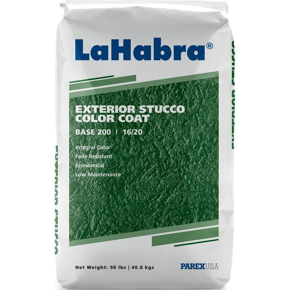 LaHabra Exterior Stucco Color Coat 90 lb. Base #200 Gray-1230 ...