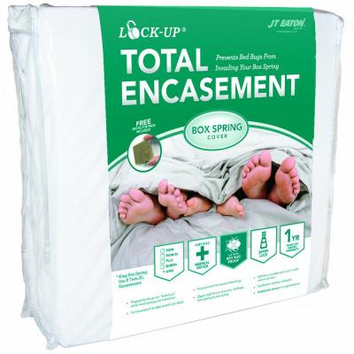 Lock-Up Queen Total Box Spring Encasement for Bed Bug Protection