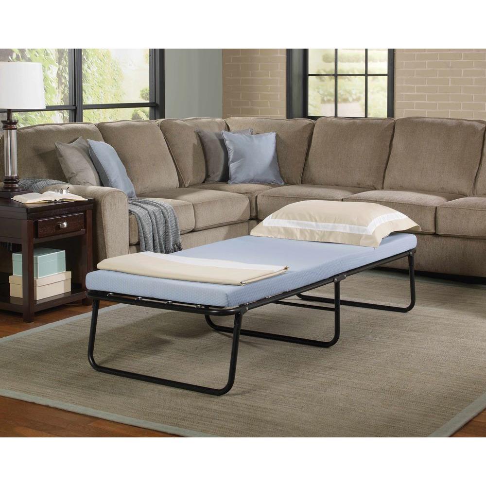 Simmons Beautysleep Twin Steel Foldaway Bed