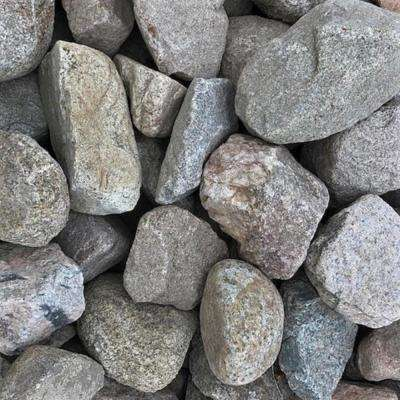 4 in. to 8 in. Sierra Coral Granite Landscaping Cobble (2500 lb. Contractor Pallet)