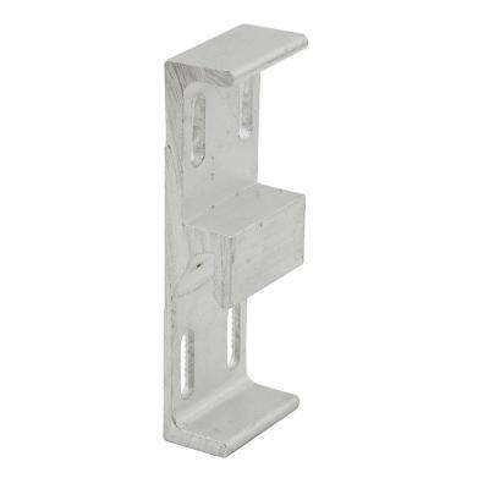 1-1/16 in. Wide Extruded Aluminum Sliding Door Keeper