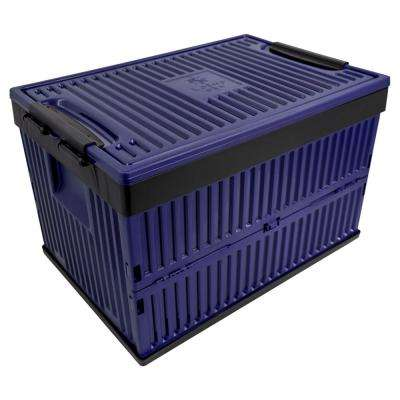 Foldable 60 Qt. Cooler and Crate in Blue